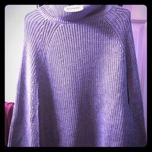 Essue gray women's NWT sweater poncho